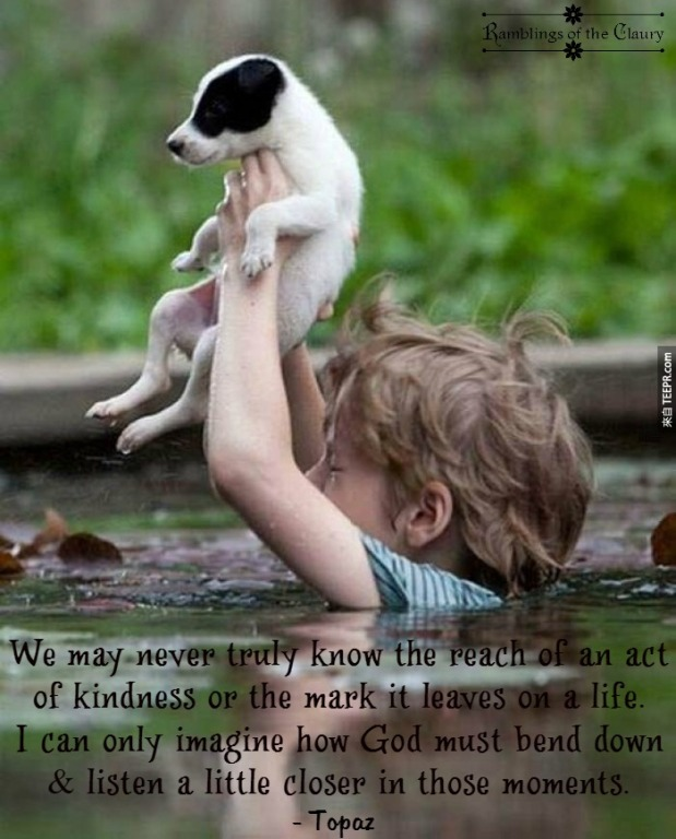 The mark of kindness