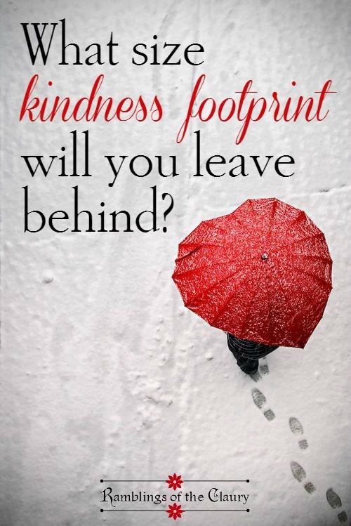 Kindness Footprint